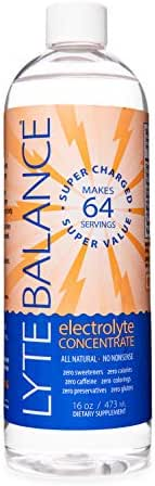 Lyte Balance Electrolyte Concentrate - 64 Servings. Maximum Electrolytes per Serving. Zero Additives. 3X Potassium + Magnesium and Sodium. Personalized Hydration for Every Body.