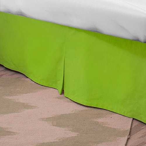 Standard Bed Skirt - Lime XL Twin LeighDeux