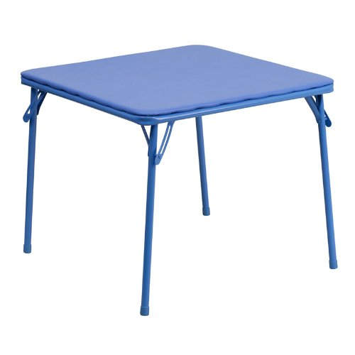 Flash Furniture Kids Blue Folding Table JB-TABLE-GG