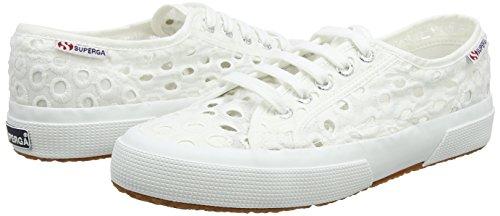 Women''s Trainers White 2750 Embroiderycottonw Superga white gq1PZnZR