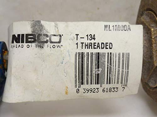 Nibco NL1M00A Bronze Wedge Gate Valve T-134 150SWP 1FNPT