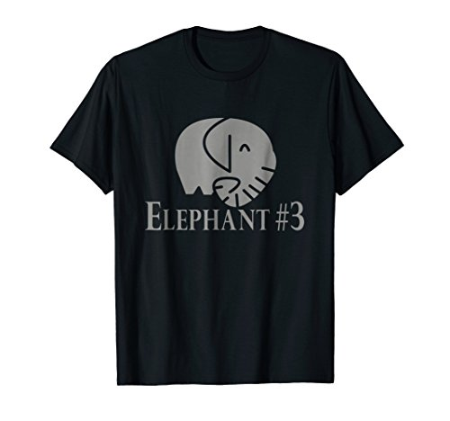 Elephant #3 T-shirt Easy Group Halloween Costume (Groups Of Three Costume Ideas)