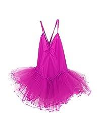 Girls' Camisole Leotard Dancing Ballet Tutu Dress Skirt Gymnastics Costumes
