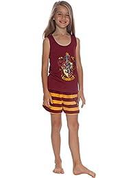 Girls Gryffindor Racerback Pajama Short Set