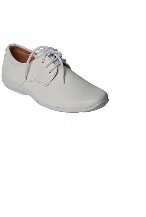 0139b58f blanco zapato barato ceremonia para los hombres - blanquecino - P-41:  Amazon.es: Zapatos y complementos