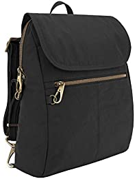 Anti-theft Signature Slim Backpack, Black