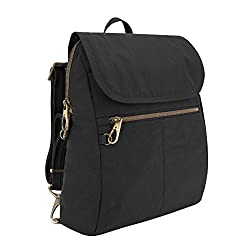 Travelon Anti-theft Signature Slim Backpack, Black