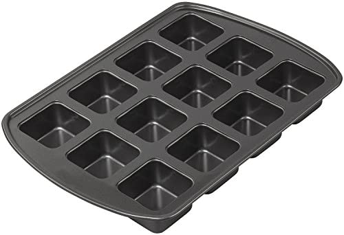 Mainstays Non-Stick 12-Cup Dessert Bar Pan