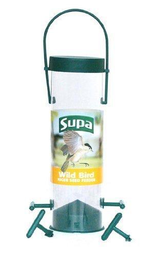 Spedizione gratuita al 100% SUPA Wild Bird Bird Bird 8   4 Port niger Seed Feeder by  comprare a buon mercato