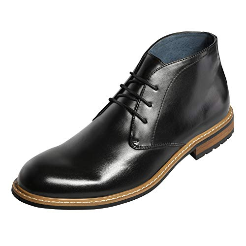 Bruno Marc Men's Chukka Dress Ankle Boots Business Casual Boot