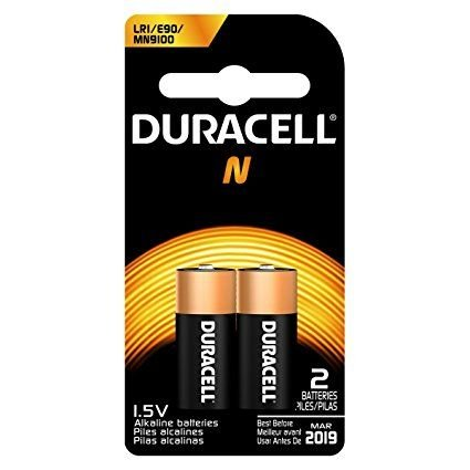 Duracell MN9100B2PK Home Battery, Size N (8 Batteries)