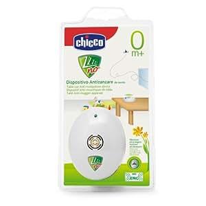 Chicco Zanza - Dispositivo antimosquitos por ultrasonidos a pilas