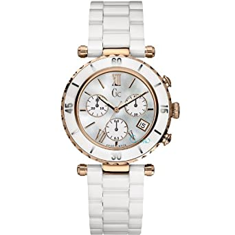 Image Unavailable. Image not available for. Color  Guess Collection  I47504M1S 38.5mm Stainless Steel Case White Ceramic ... aa22d538a2a