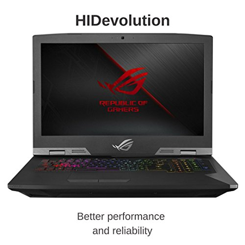 "HIDevolution ASUS ROG G703GS 17.3"" FHD 144Hz Gaming Laptop | 2.2 GHz i7-8750H, GTX 1070, 16GB DDR4/2666MHz RAM, 1TB SSHD | Authorized Performance Upgrades & Warranty"