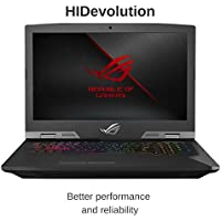"HIDevolution ASUS ROG G703GI 17.3"" FHD 144Hz Gaming Laptop | 2.2 GHz i7-8750H, GTX 1080, 32GB DDR4/2666MHz RAM, PCIe 1TB SSD + 1TB SSHD | Authorized Performance Upgrades & Warranty"