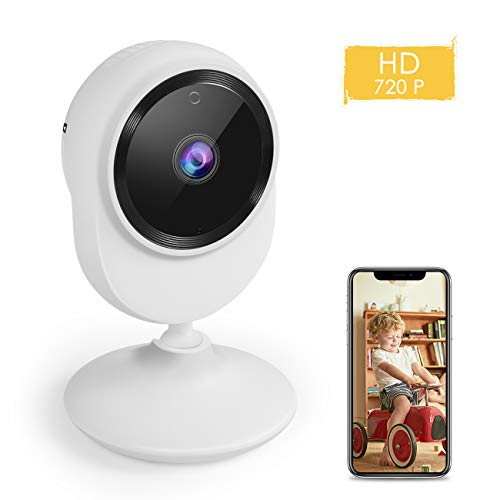 Security IP Camera, Wireless Security Surveillance Camera with Night Vision Activity Detection Alert Baby Monitor, Remote Monitor with iOS, Android App by Car Guardiance