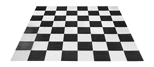 Hammer Crown Garden Hard Checkerboard; Fits Garden Checker Pieces Set (4-Inch Diameter) by Hammer Crown