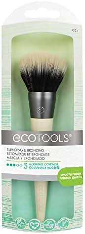 EcoTools Bronzer Brush Blend & Set Blush Powder Highlighter Bronzer
