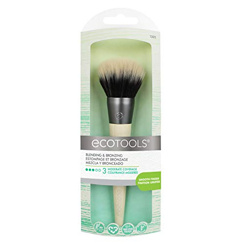 EcoTools Bronzer Brush Blend & Set Blush Powder Highlighter Bronzer ()