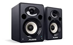 Alesis Elevate 5 | 40-watt 5'' Active Desktop Studio Monitor Speakers with Elliptical Waveguide (Pair)