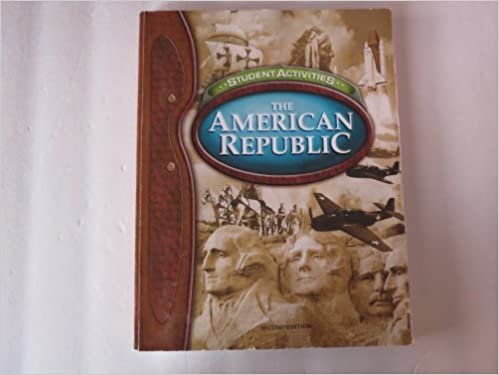 Amazon the american republic for christian schools student the american republic for christian schools student activities 2nd edition fandeluxe Choice Image