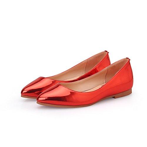 Asakuchi en primavera moda señora flat shoes/Coreano señaló zapatos de Joker/cómodo tacón E