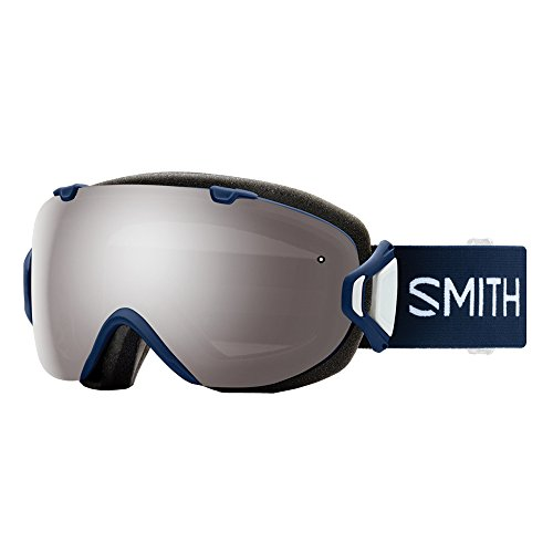 f727f96487d Smith Optics Womens I OS Snowmobile Goggles Navy Micro Floral   ChromaPop  Sun Platinum Mirror