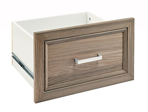 ClosetMaid 58885 SuiteSymphony 16-Inch X 10-Inch Drawer, Natural Gray - Gray Natural Wood