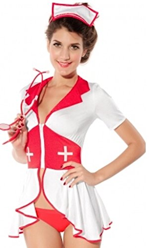 Nurse Uniform Fancy Dress (Cute Nurse Costume Uniform Fancy Dress Outfit)