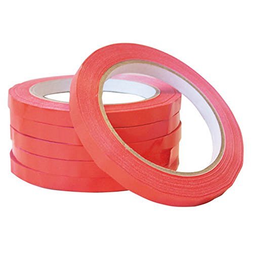 Smith & Bateson Bag Sealing Machine Tape (Pack of 6) (One Size) (Red)