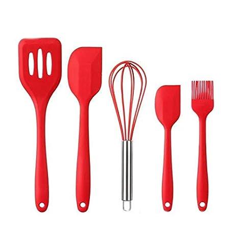 Set da 12 pezzi in silicone completo per cottura e utensili da cucina Set di utensili