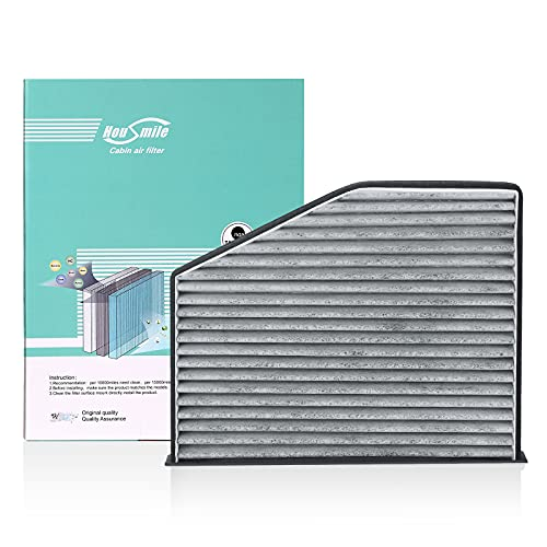 PPWER Cabin Air Filter Up to 50% Longer Life Replacement for Fram CF10373 Compatible for Volkswagen
