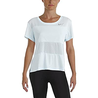NIKE Womens Mesh Inset Fitness Pullover Top