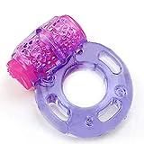 OKJLO Shirt Ví-bratórs Women Vi*Brar*tor C-óck Ring Stretchy Delay P-Enis Rings Intense C-lit Stimulation Sexmny Toy for Couples Batteries Included C-óck Ring - Purple - Ví-bratórs Dogs and Cats 23