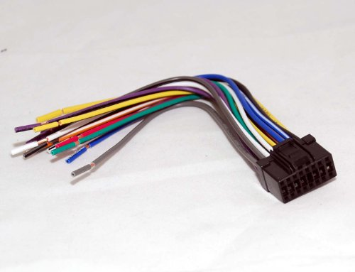 41fF2oBu6DL amazon com xtenzi 16 pin wiring harness for pioneer (cde6563 pioneer deh-p7900bt wiring harness at panicattacktreatment.co