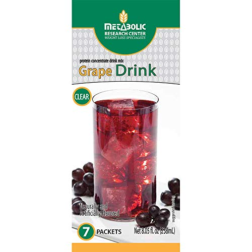 (Metabolic Research Center Grape Protein Drink, 7 Count)