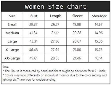 ETLieren Long Sleeve Blouses for Women V Neck Chiffon Blouses Business Casual Work Shirt Fall Tops