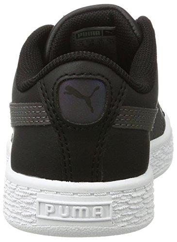 Puma Basket Swan V Ps, Zapatillas Unisex Niños Negro (Puma Black-puma Black 01)