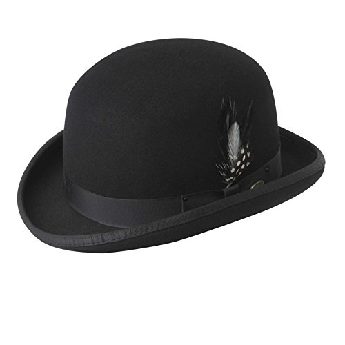 Wool Bailey Hat Hats - Bailey Of Hollywood Men Derby Hat Black S