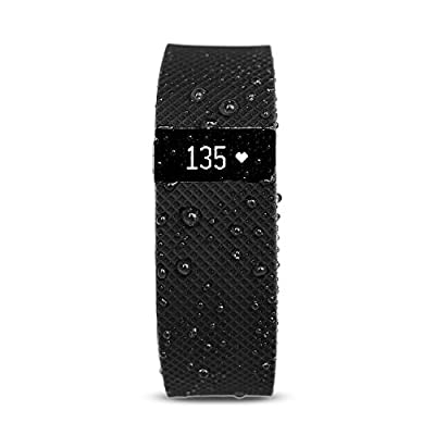 Waterfi Waterproofed Fitbit Charge HR Wireless Activity Tracker with Heart Rate Monitor