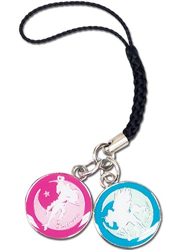 Sailor Moon Phone Charm - Pegasus & Chibimoon
