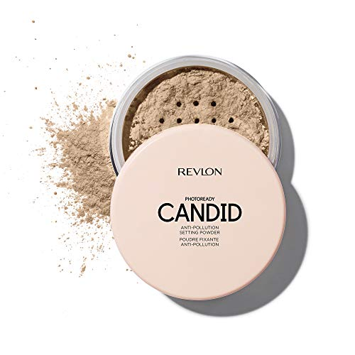 Revlon PhotoReady Candid Setting Powder, with Anti-Pollution, Antioxidant Ingredients, without Parabens, Pthalates and Fragrances; Shade 002 .34 Fluid Oz