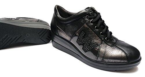 MELLUSO , Chaussures de ville à lacets pour femme noir noir 40