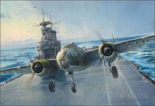 Into the Teeth of the Wind, by Robert Taylor - 550 Signed and Numbered (Aviator Teeth)