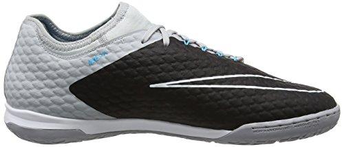 Nike Herren Hypervenomx Finale Ii Ic Fußballschuhe Grijs (wolf Grijs / Zwart / Blauw Chloor / Dk Grijs / Pu)