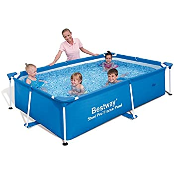 Bestway rectangular 94 x 59 x 23 inches for Intex pool 150 cm tief