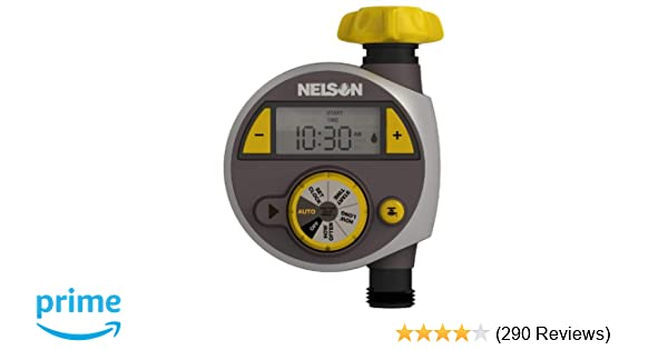 Amazon.com : Nelson 56607 Timer with LCD Screen, Large : Watering ...