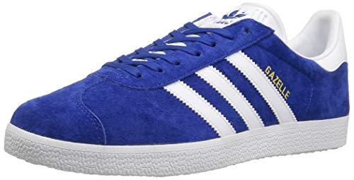 Adidas Originals Game - Adidas Originals Men's Gazelle Lace-up Sneaker,Collegiate Royal/White/Gold Met.,10.5 UK