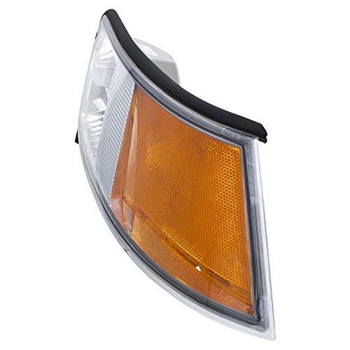 CarPartsDepot 98-02 MERCURY GRAND MARQUIS PASSENGER R/H SIDE CORNER SIGNAL LIGHT LAMP (Grand Marquis Passengers Side Corner)
