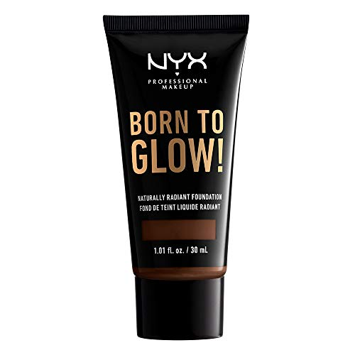 NYX PROFESSIONAL MAKEUP Born To Glow Naturally Radiant Foundation - Warm Walnut